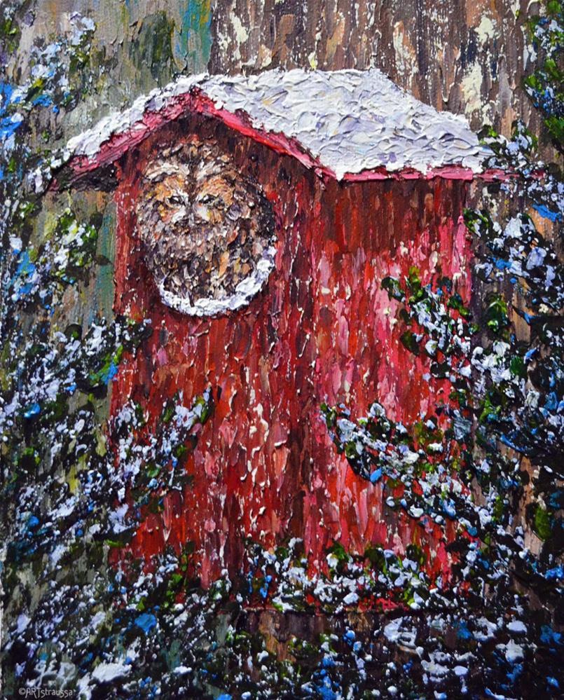 """SALE!!!Tawny Winter"" original fine art by Gloria Ester"