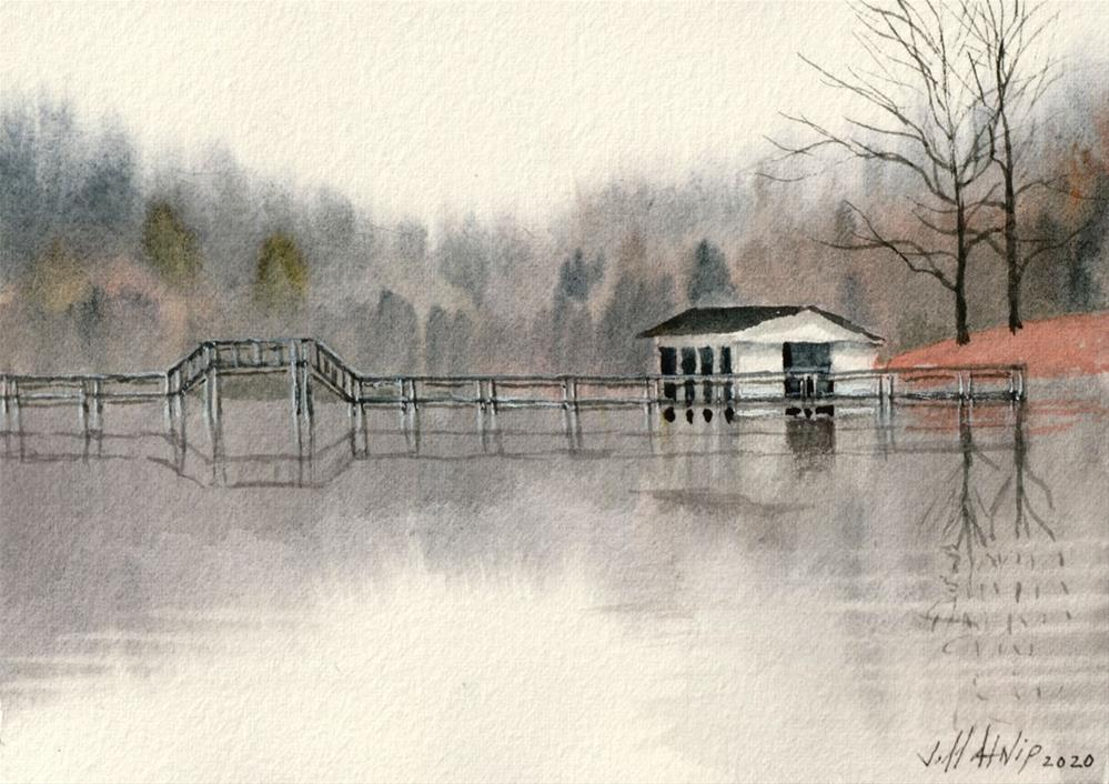 """Cub Lake"" original fine art by Jeff Atnip"