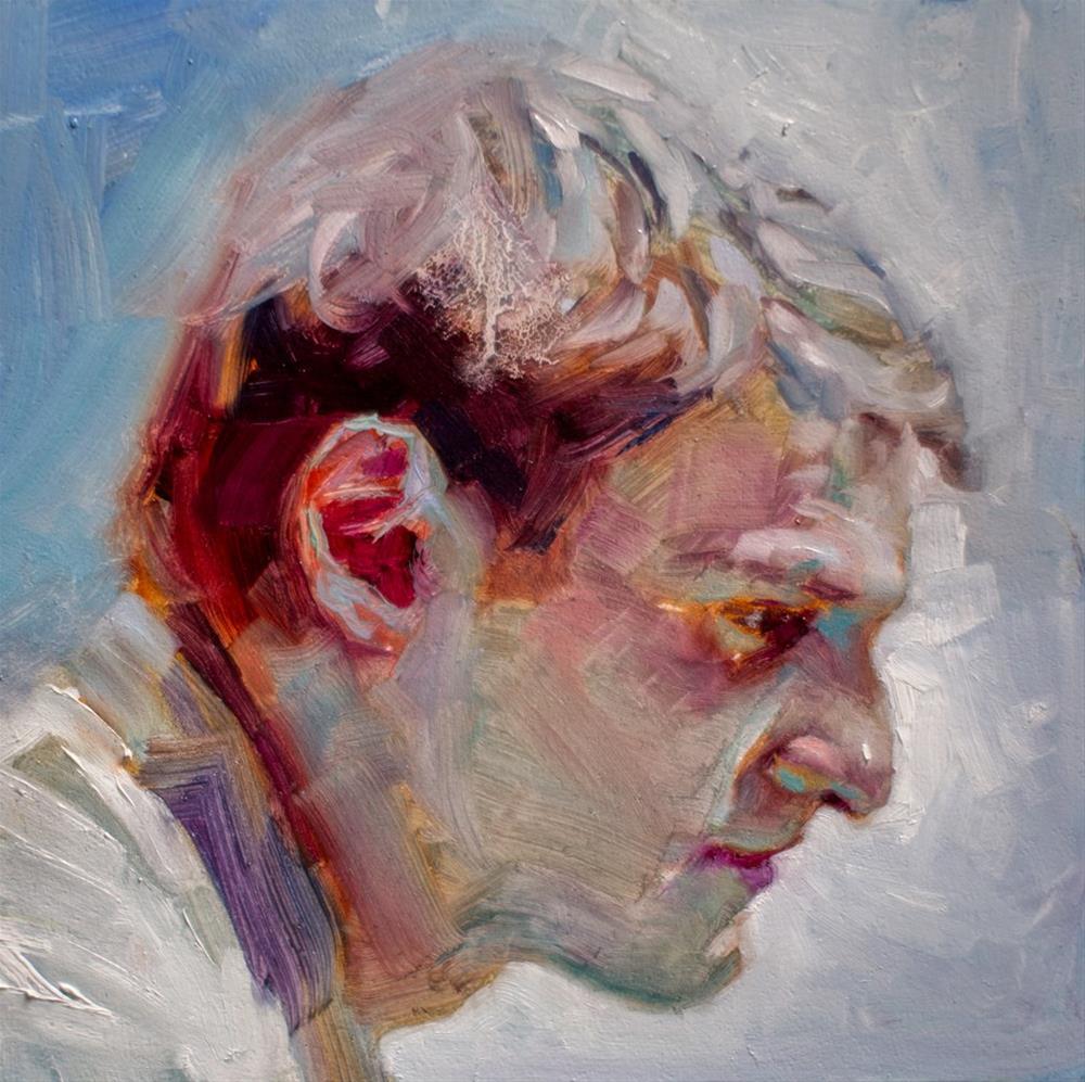 """Portrait № 1"" original fine art by Dimitriy Gritsenko"