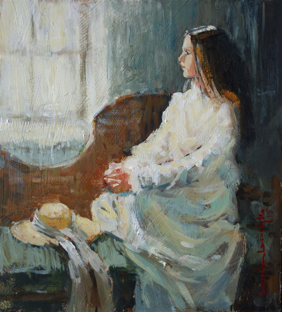 """Window Light"" original fine art by Lorraine Lewitzka"