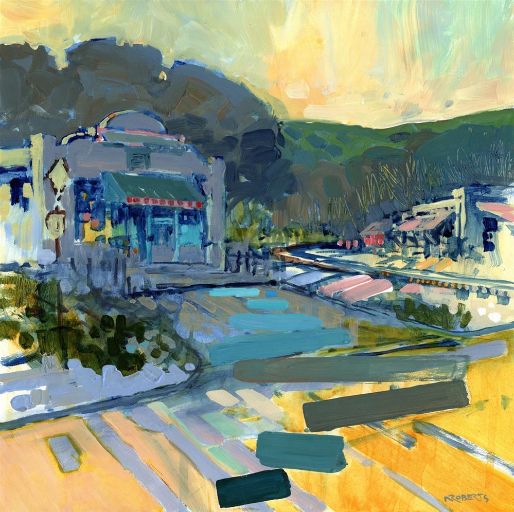 """Golden Morning, Sunol"" original fine art by Nancy Roberts"
