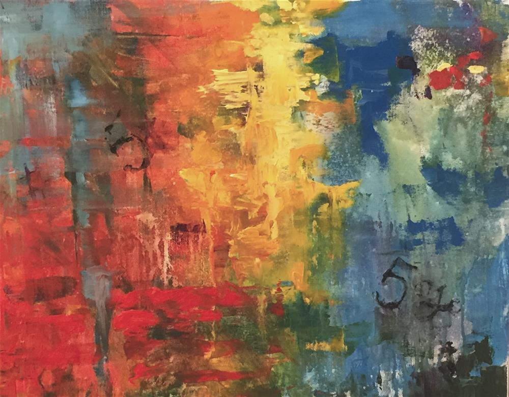 """The Vanishing Tulsan"" original fine art by Linda Dunbar"