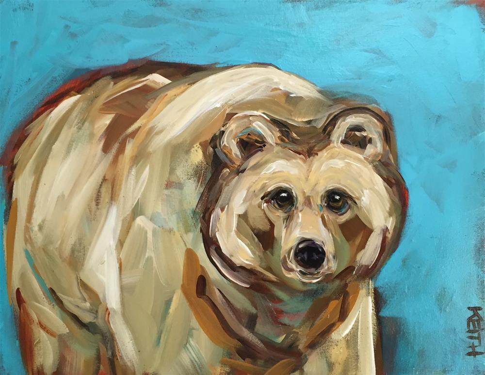 """Amber"" original fine art by Kandice Keith"