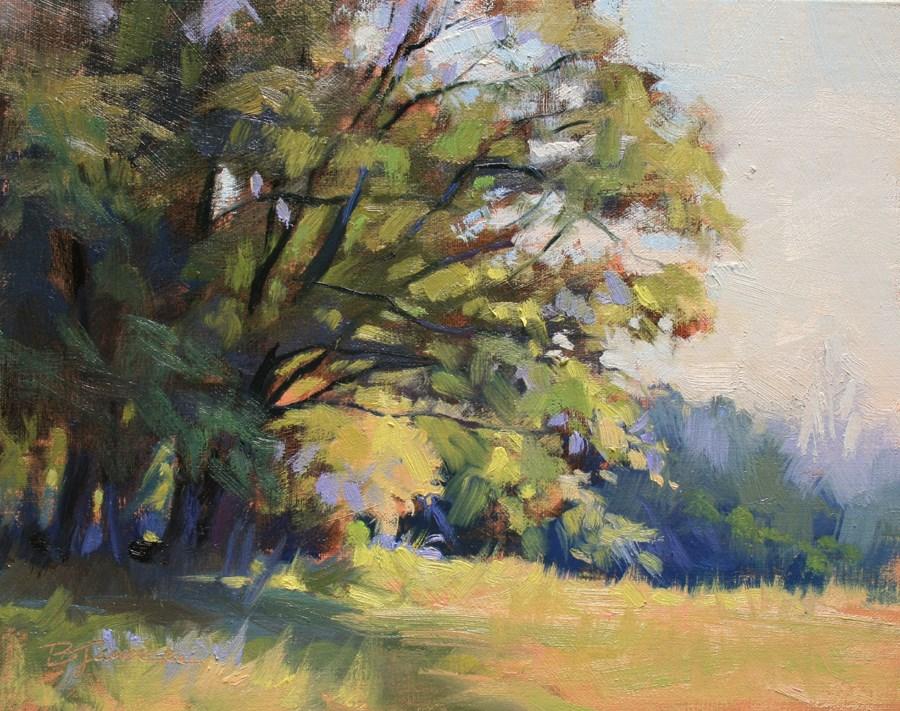 """A Morning in May"" original fine art by Barbara Jaenicke"