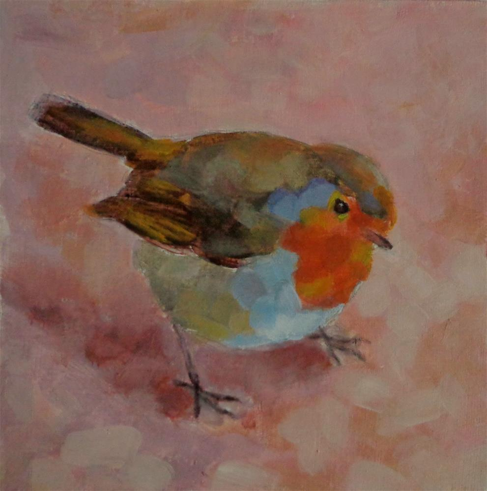 """""""Searching for food"""" original fine art by Maria Z."""