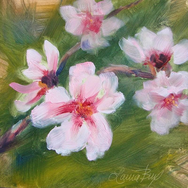"""Dreaming of Peaches 214"" original fine art by Laura  Buxo"