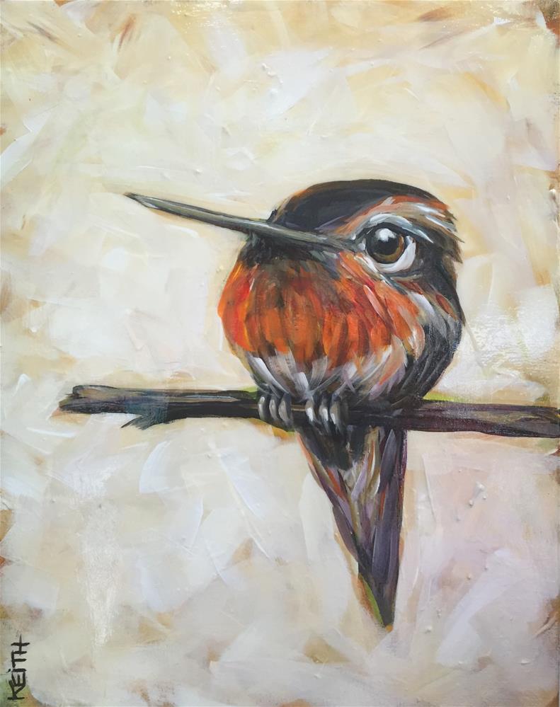 """Rufus"" original fine art by Kandice Keith"