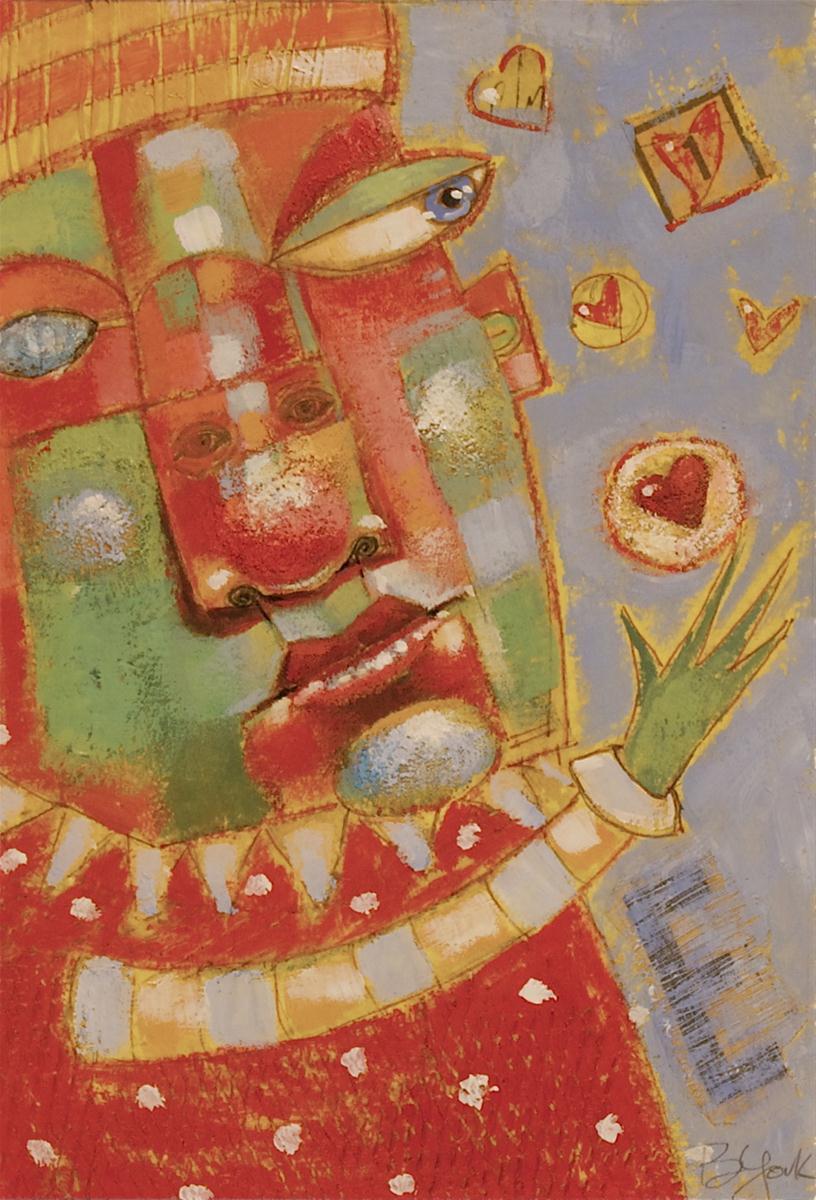 """Love Is In The Air"" original fine art by Brenda York"
