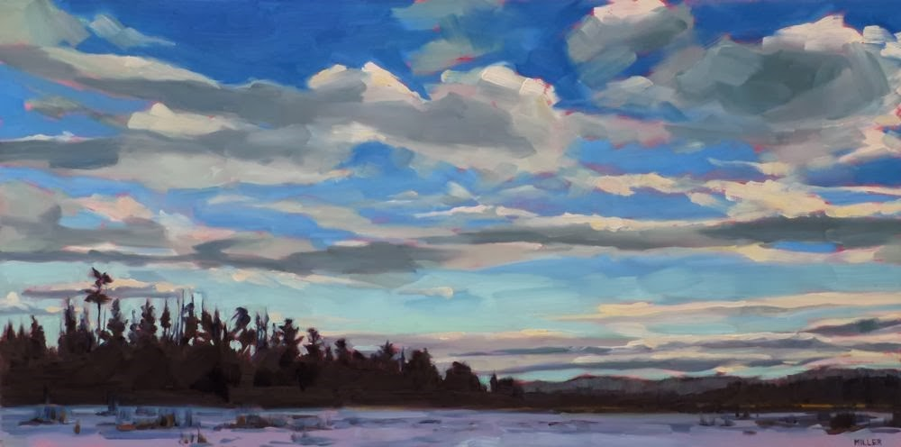 """Looking South"" original fine art by Jessica Miller"