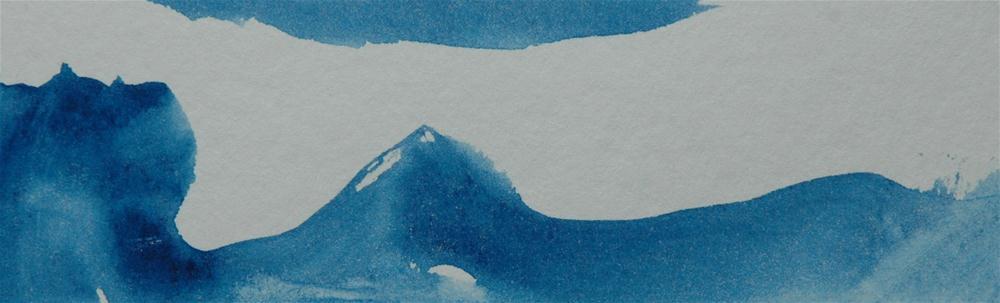 """""""Am Meer (By the sea)"""" original fine art by Ulrike Schmidt"""