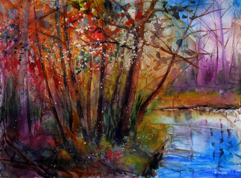 """River Home"" original fine art by Melissa Gannon"
