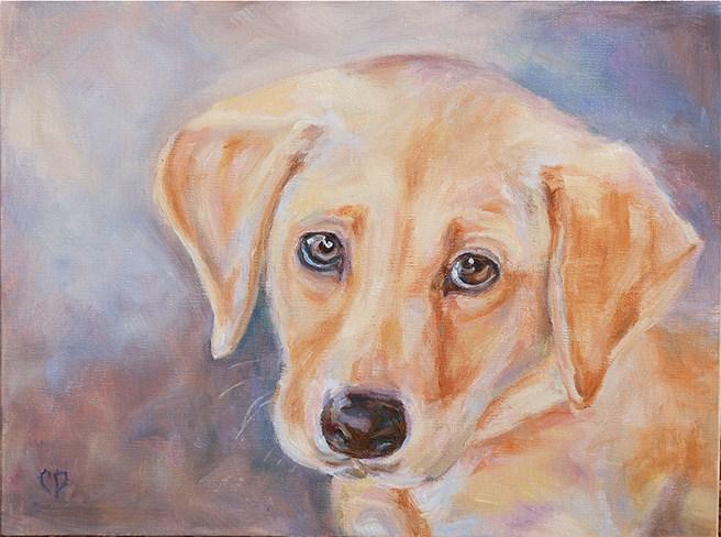 """Dixie"" original fine art by Carol DeMumbrum"