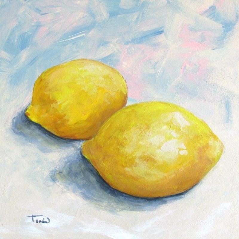 """""""Just Lemons II"""" original fine art by Torrie Smiley"""