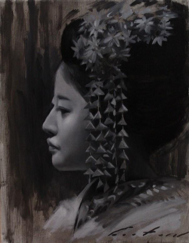 """""""Shino"""" original fine art by Phil Couture"""