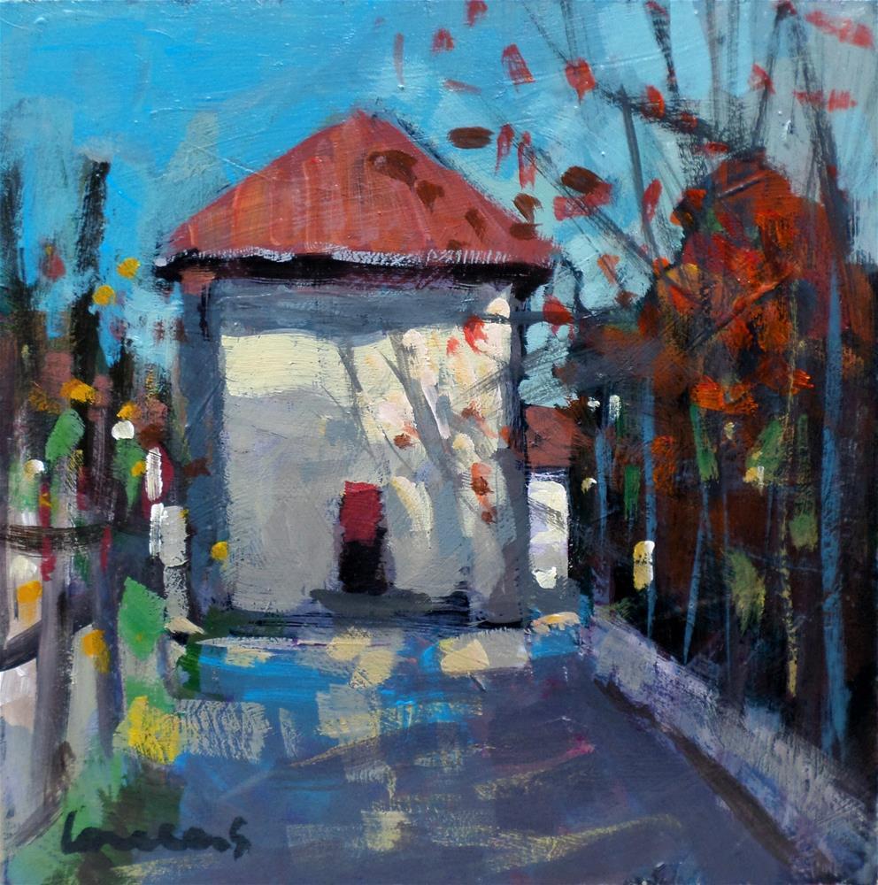 """Autumn light"" original fine art by salvatore greco"