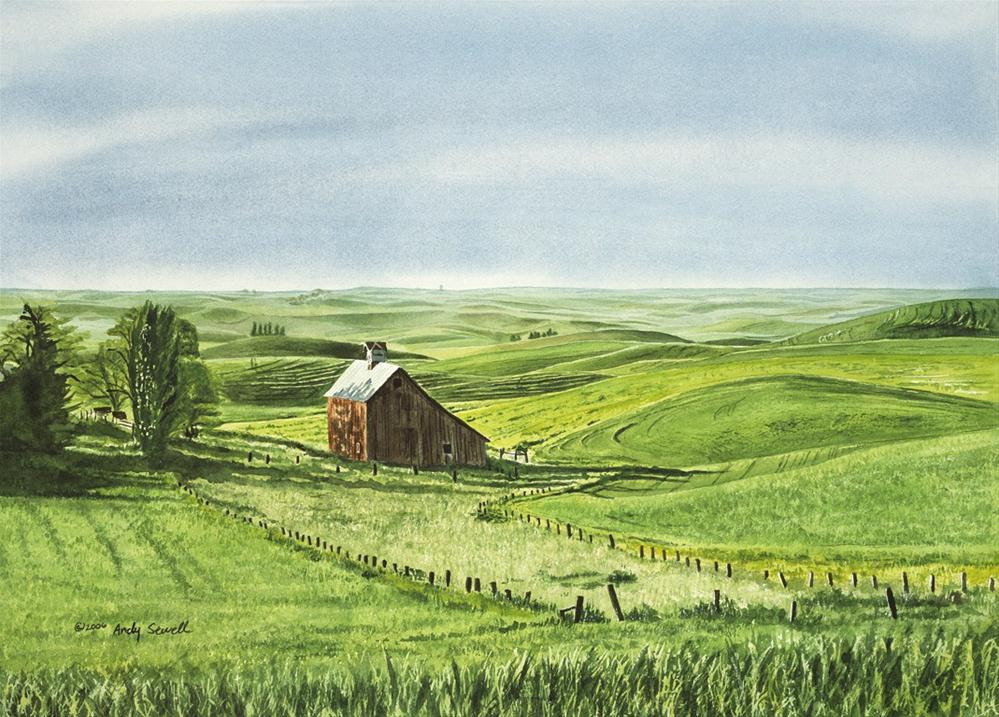 """""""Early June"""" original fine art by Andy Sewell"""