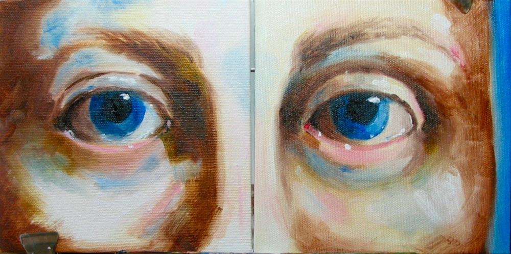 """""""Two eyed"""" original fine art by Patricia Murray"""