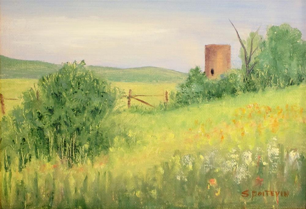 """Summer Bliss"" original fine art by Susan Poitevin"