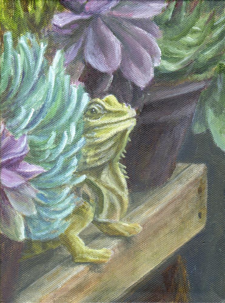 """The Hideaway"" original fine art by Debbie Shirley"