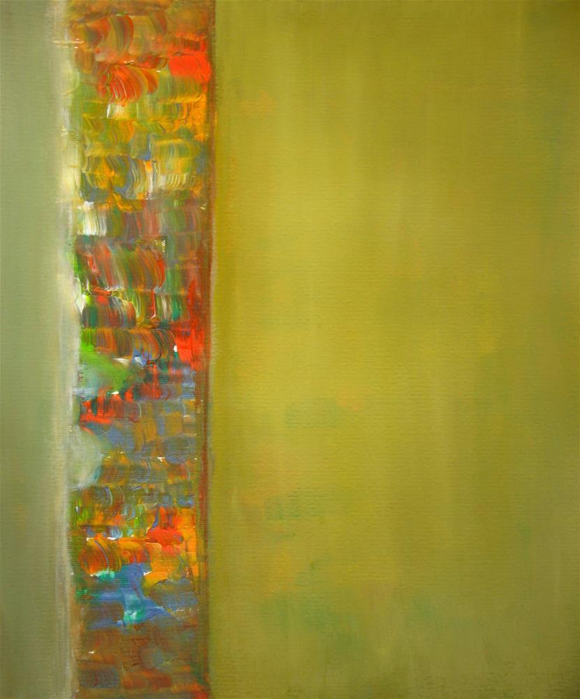 """Messy Colors"" original fine art by Alina Frent"