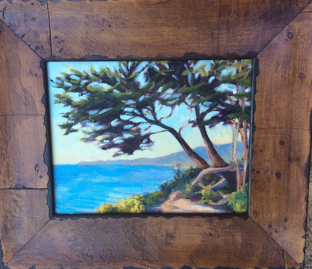 """Solo cypress"" original fine art by Leigh Alexandra Sparks"