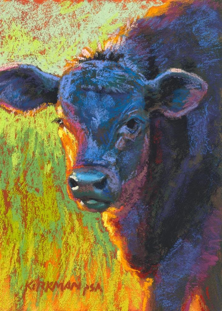 """Licorice"" original fine art by Rita Kirkman"