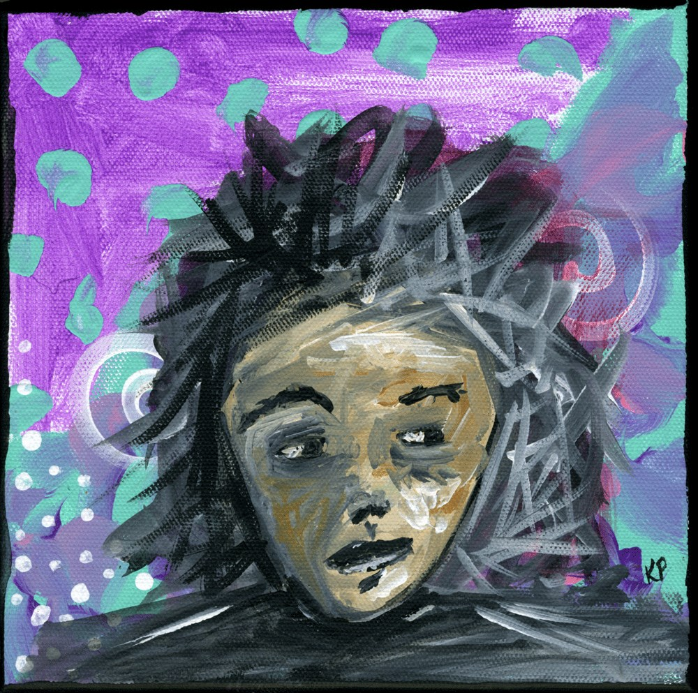 """""""To the Side"""" original fine art by Kali Parsons"""