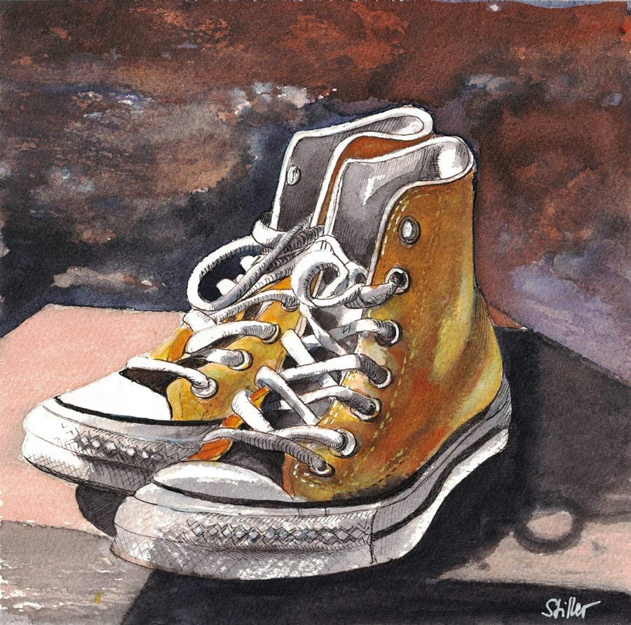 """3136 kickers"" original fine art by Dietmar Stiller"