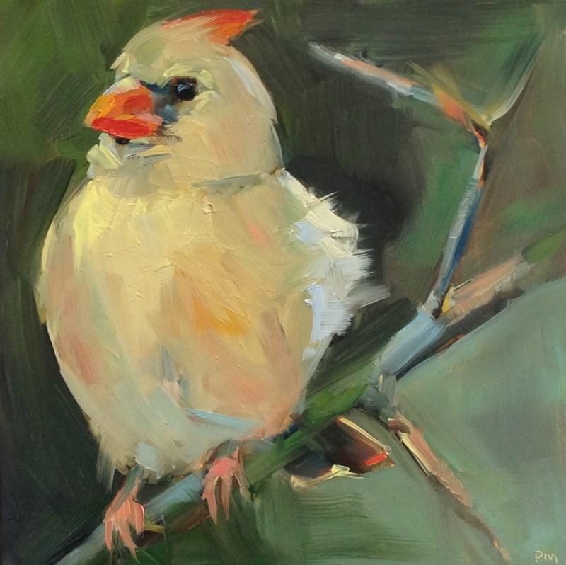 """""""Mellow Yellow"""" original fine art by Patti McNutt"""