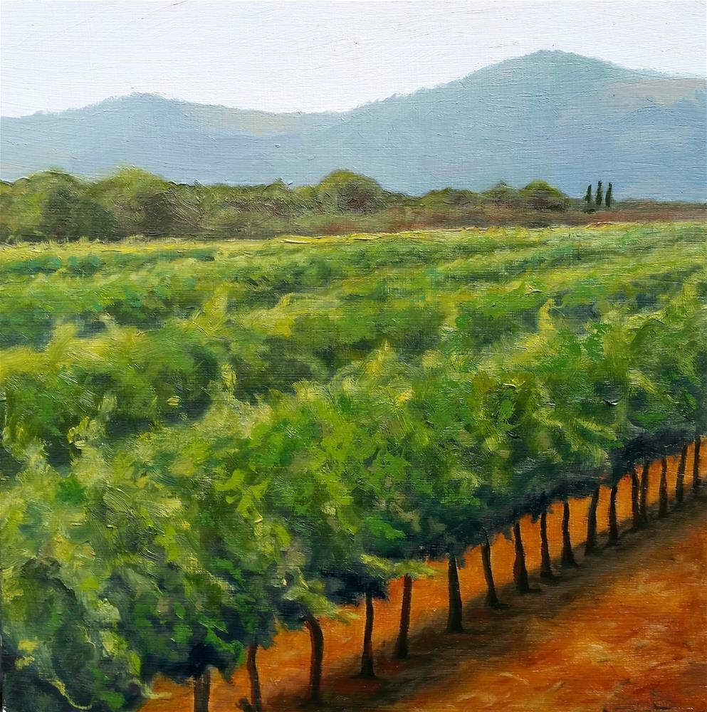 """""""Sansonnet vines #2"""" original fine art by Kim Homes"""