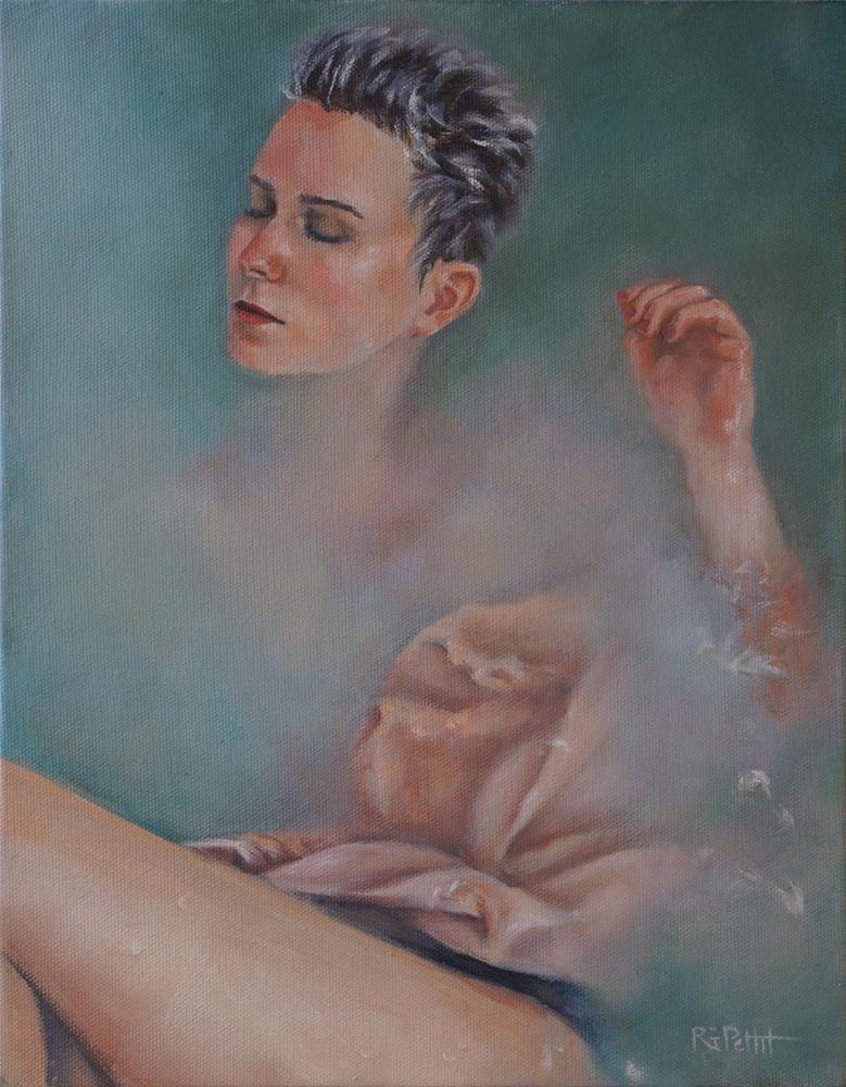 """""""Renew"""" original fine art by Rhea  Groepper Pettit"""
