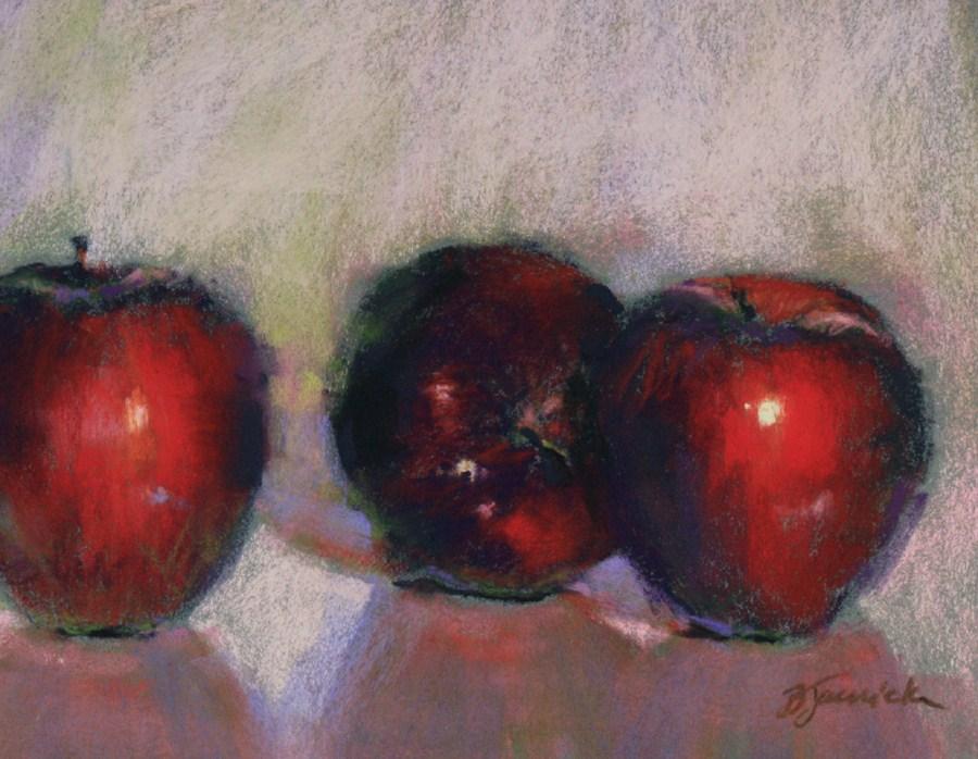 """Apple Secrets"" original fine art by Barbara Jaenicke"