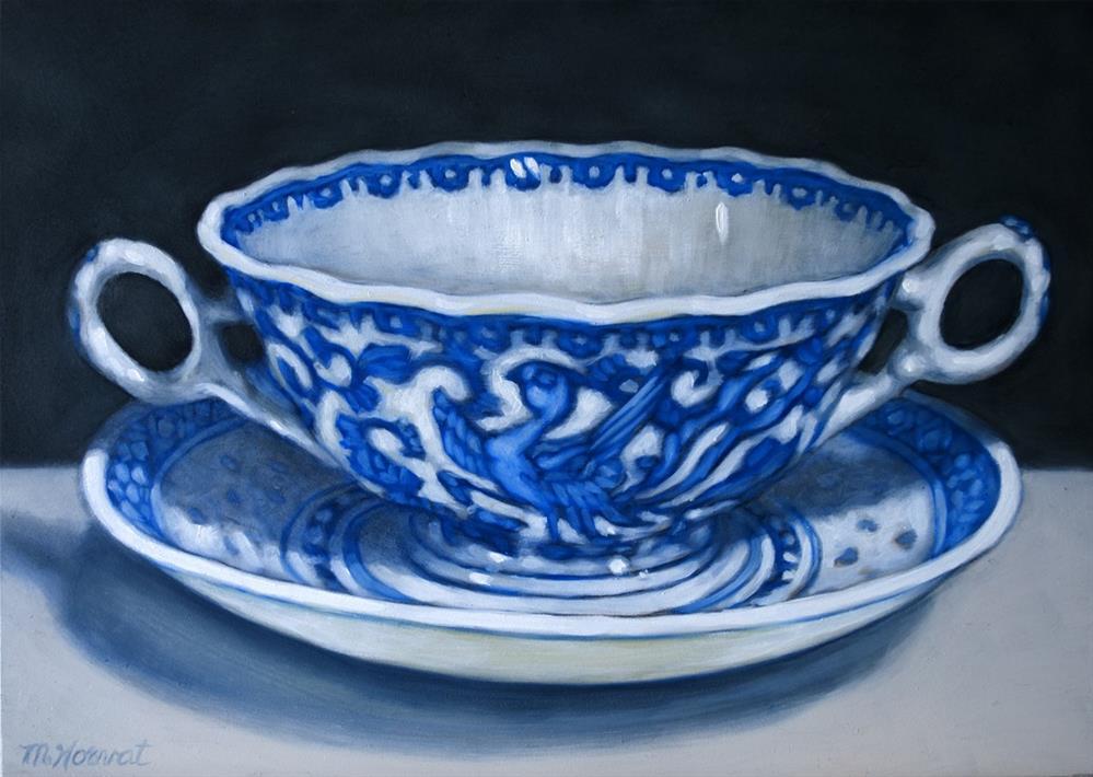 """""""Soup Bowl"""" original fine art by Margaret Horvat"""