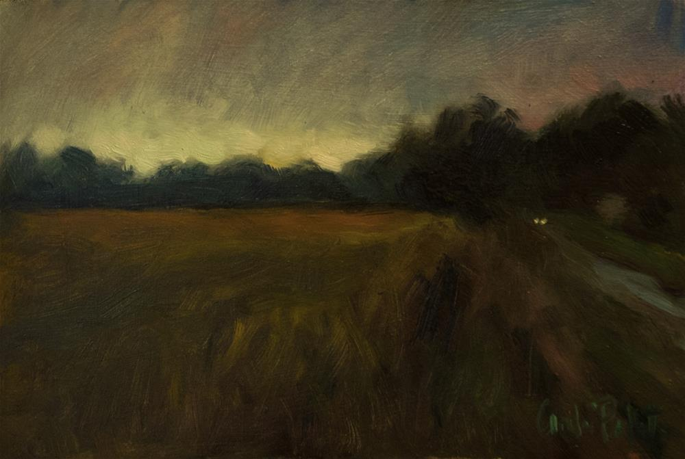 """Headlights"" original fine art by Andre Pallat"
