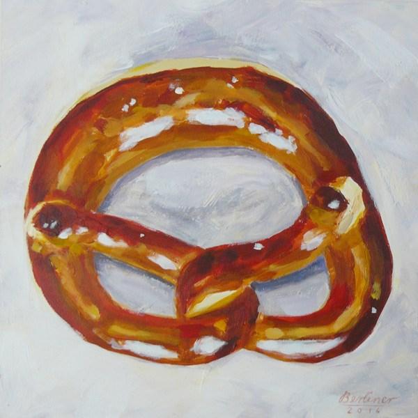 """048 Brezel"" original fine art by Anja Berliner"