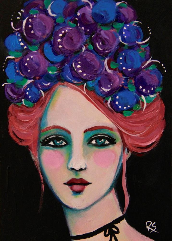 """Katelyn"" original fine art by Roberta Schmidt"