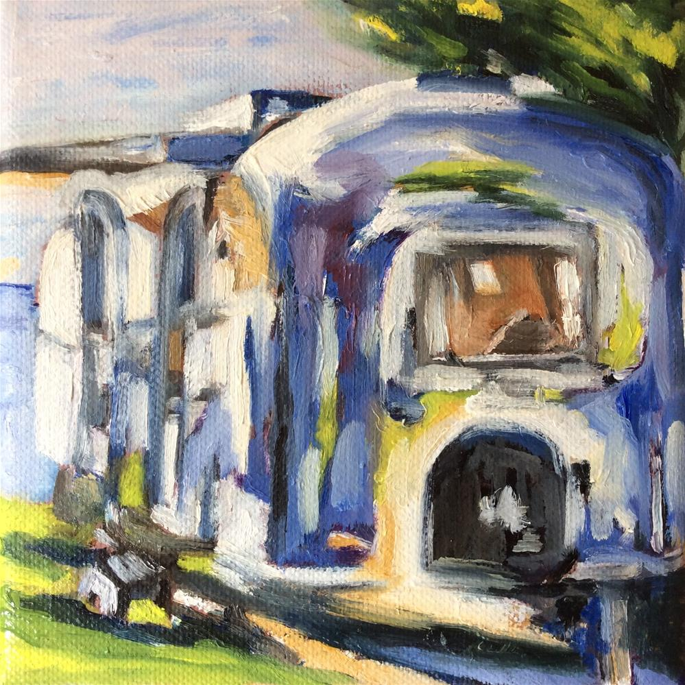 """Airstream"" original fine art by Sonja Neumann"
