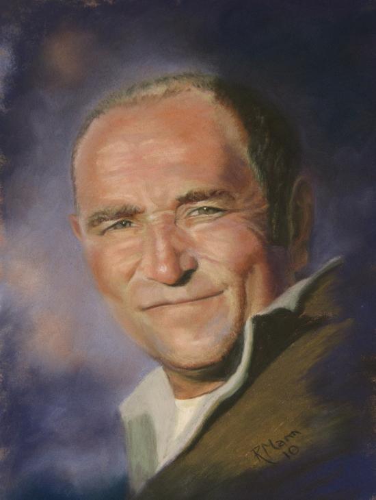 """""""John"""" original fine art by Ruth Mann"""