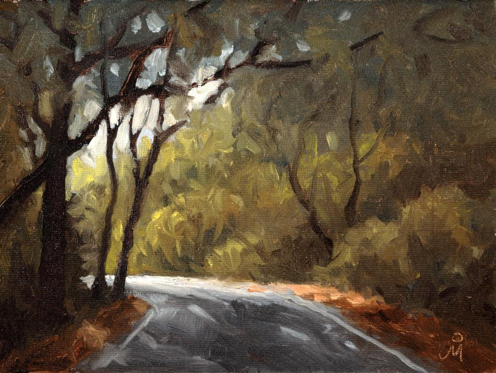 """Towards Kankumbi"" original fine art by Mandar Marathe"