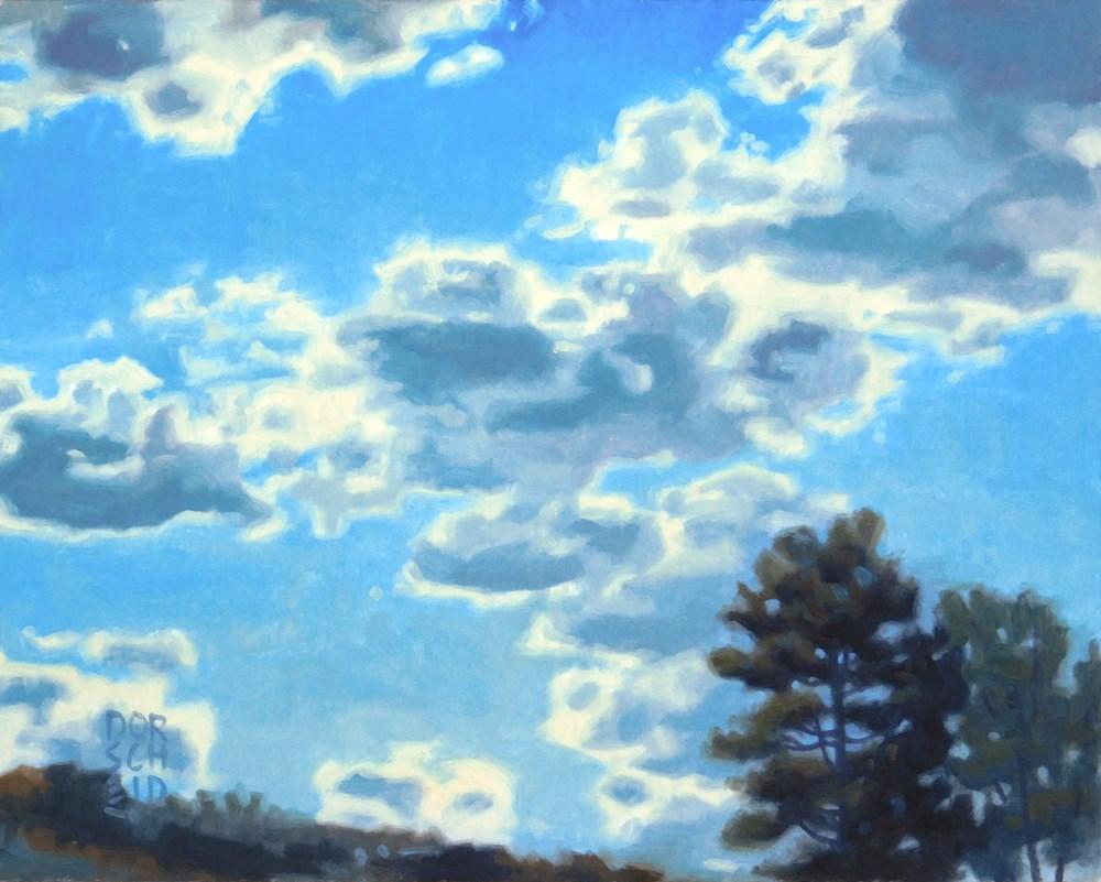 """Blue Sky and Sunshine"" original fine art by Les Dorscheid"