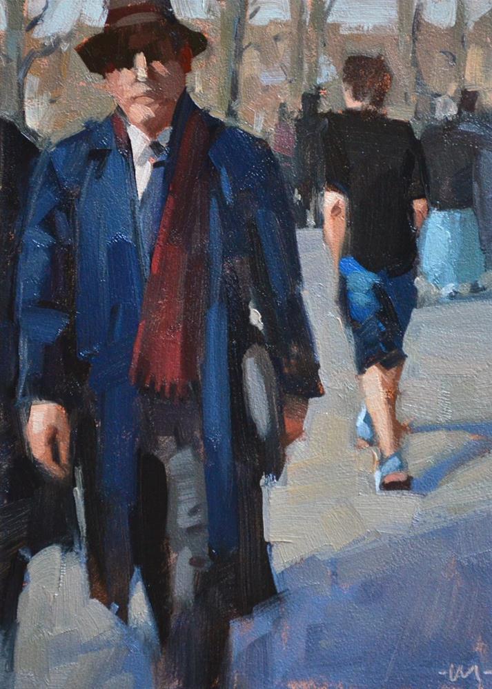 """This Guy"" original fine art by Carol Marine"