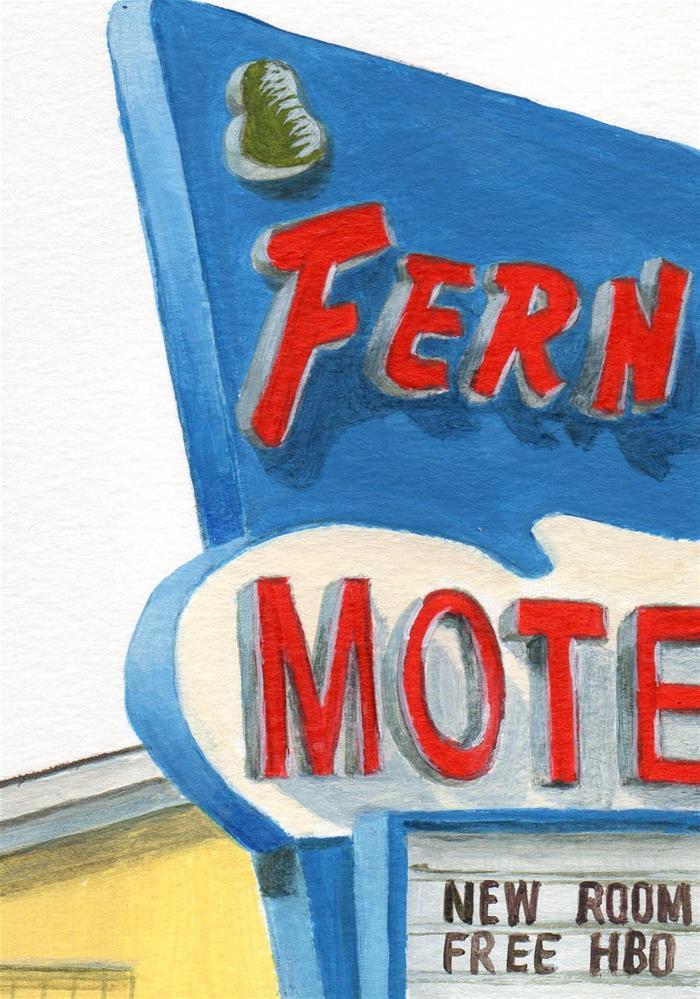 """Fern's"" original fine art by Debbie Shirley"