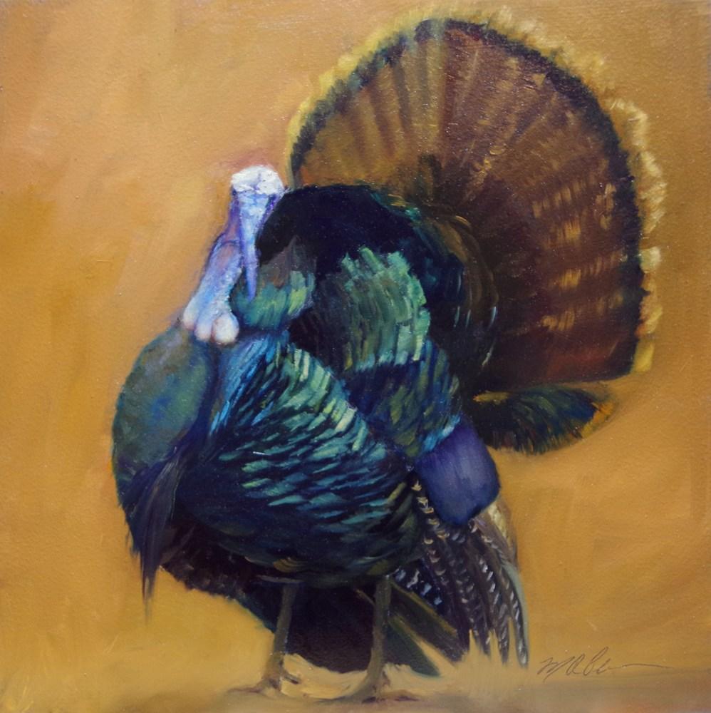 """Jive Turkey"" original fine art by Marilyn R. Place"