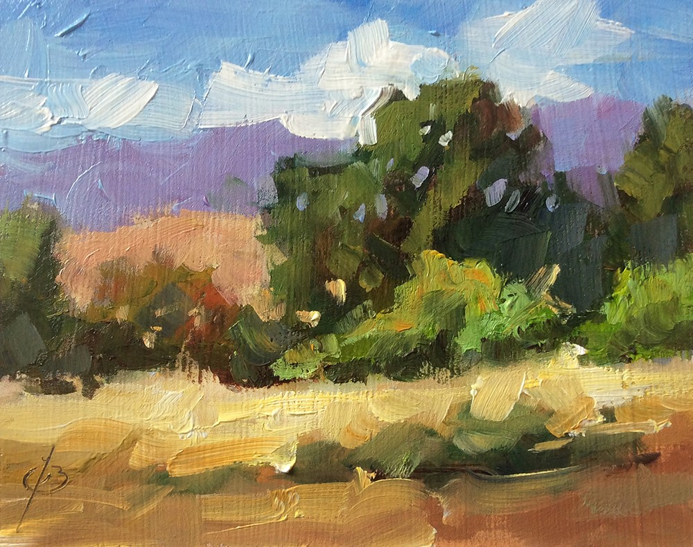 """NATURE'S BEAUTY"" original fine art by Tom Brown"