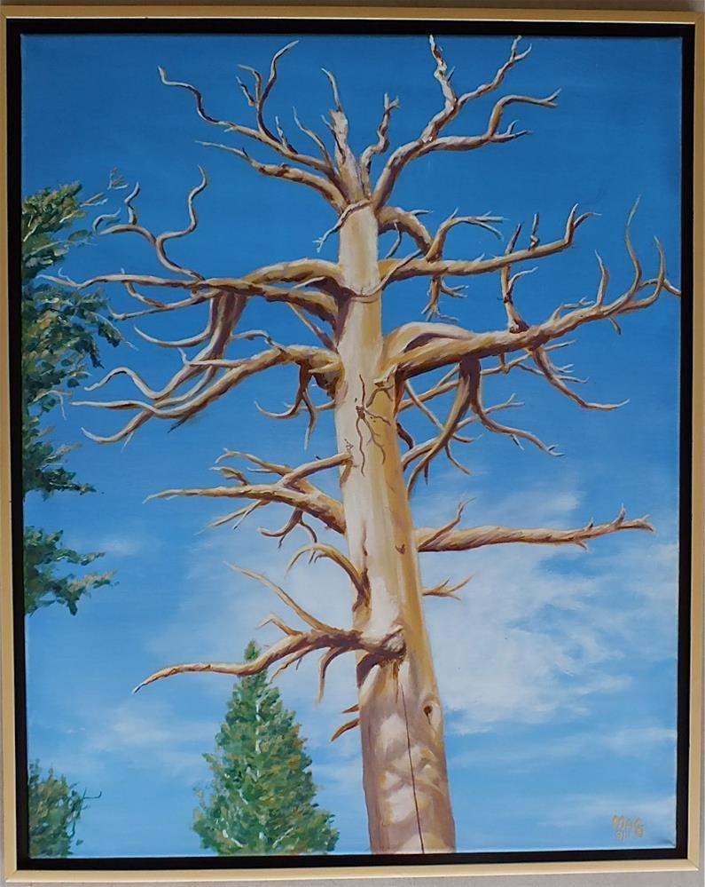 """The Sentinel"" original fine art by John F McGowan"