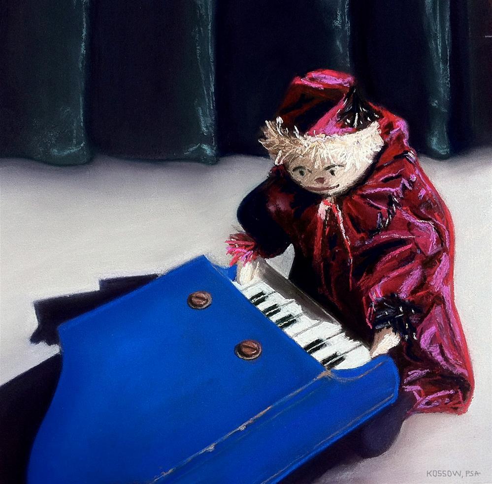 """How Do You Get to Carnegie Hall?"" original fine art by Cristine Kossow"