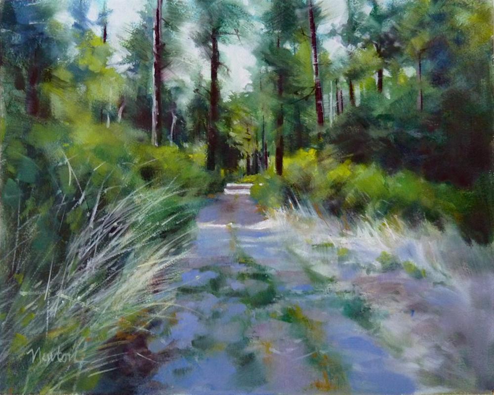 """""""Oil Color Study 7"""" original fine art by Barbara Benedetti Newton"""