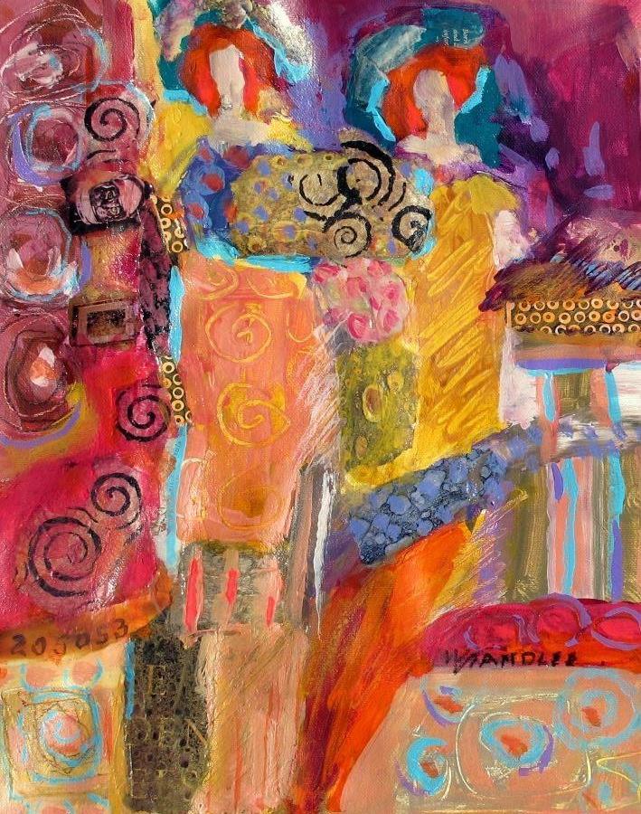 """California Focus, 12112"" original fine art by Nancy Standlee"
