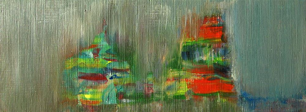 """""""Colorful Shapes"""" original fine art by Alina Frent"""