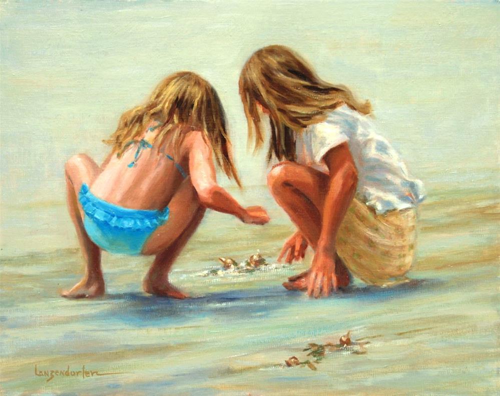"""CHANCE ENCOUNTER"" original fine art by Dj Lanzendorfer"